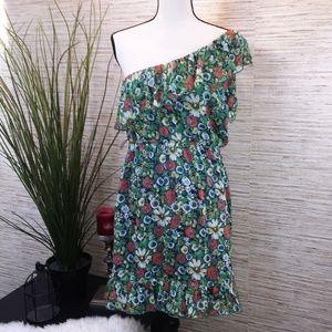 5 for $25 OLSENBOYE One Shoulder Floral  Dress